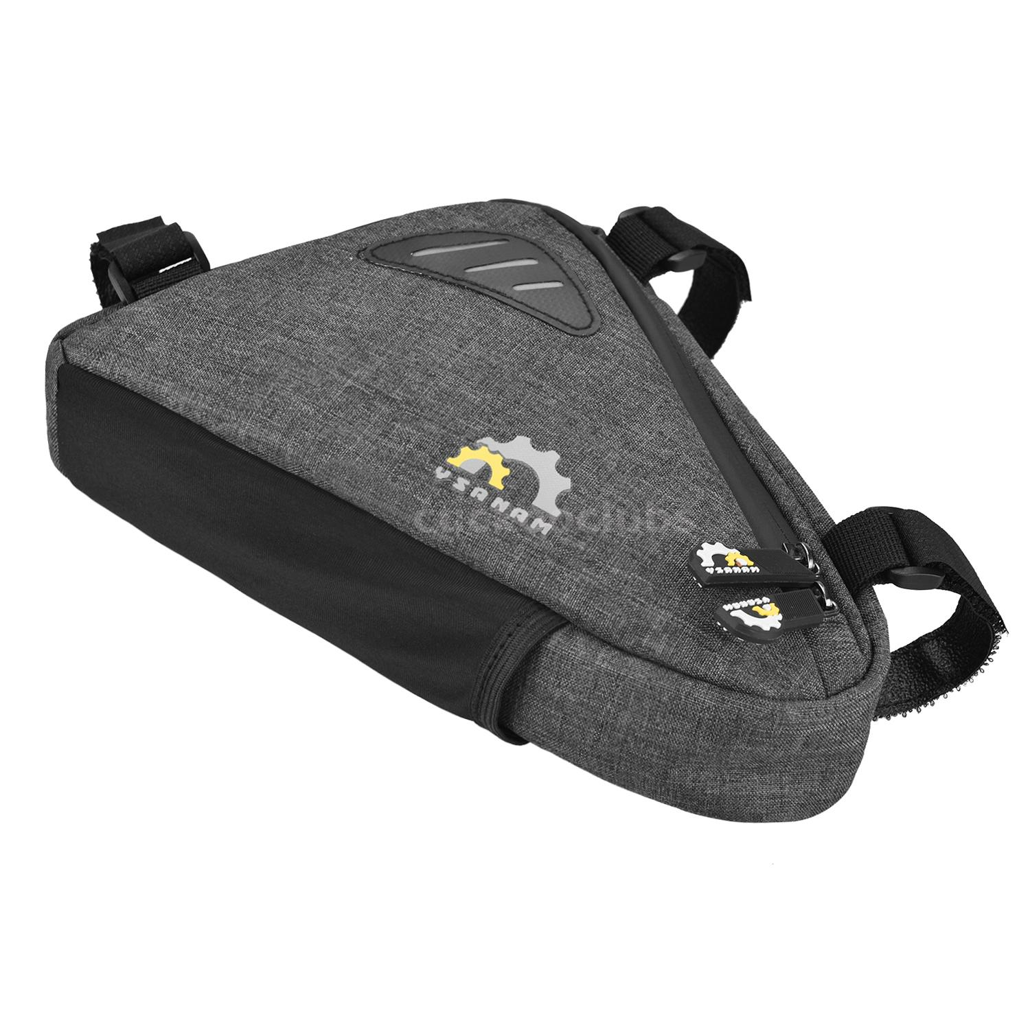 Bike Bicycle Frame Front Tube Bag MTB Cycling Triangle Storage Pack Pouch Q9A1